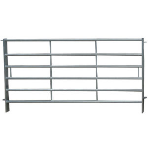 Galvanised Steel Pipe Portable Cattle Fence