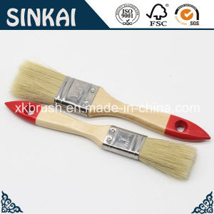 Synthetic Painting Brushes with Natural Bristle Mixed Filament pictures & photos