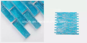 Solid Blue Colour Photochromic Glass Mosaic