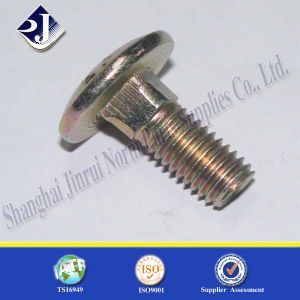 SGS Carriage Bolt (Zinc Plated 4.8 DIN603) pictures & photos