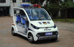 4 Seats Electric Police Buggy for Golf Course pictures & photos