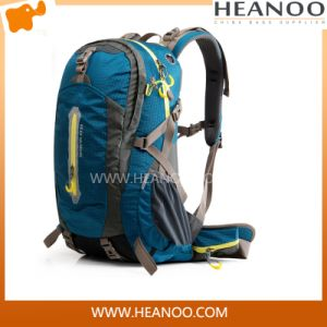 Blue Outdoor Sport Traveling Mountaineering Climbing Knapsack Camping Hiking Backpack pictures & photos
