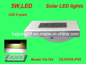 Fq-753 Wall Mounted LED Solar Infrared Sensor Light for Outside Garden Induction Lamp pictures & photos