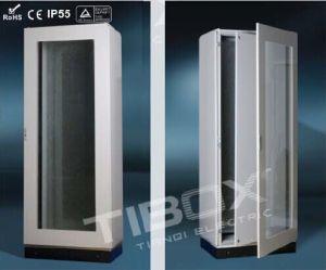 2015 Tibox One Piece Floor Stand Cabinet with Plexiglass/Inner Door pictures & photos