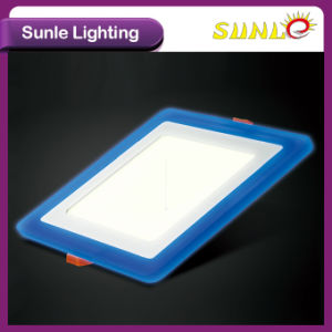 Wholesale Double Color LED Square Panel Light Price pictures & photos