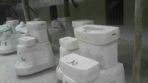 Washdown One-Piece Ceramic Toilet CE-T168 pictures & photos