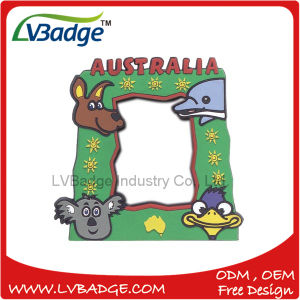 Customized 3D Cartoon Soft PVC Photo Frame pictures & photos