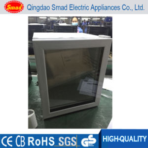 White Glass Door Thermoelectric Hotel Mini Bar Fridge pictures & photos