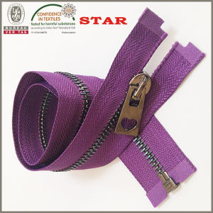 2016 Colored Teeth Metal Zipper From China for Garments