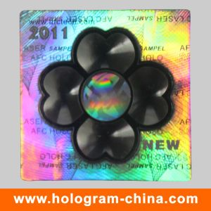 High Quality Custom Logo 2D 3D Holographic Laser Security Label pictures & photos
