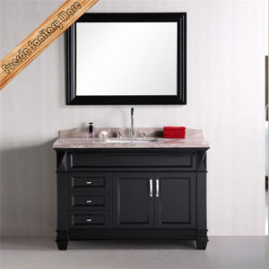 Classical Floor Standing Bathroom Vanity with Mirror pictures & photos