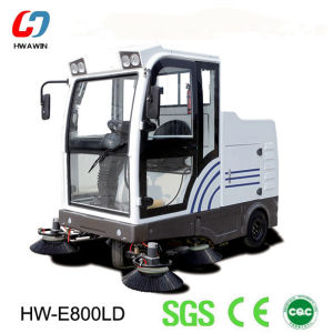 Powerful Road Sweeper Machine with Auto Discharging System pictures & photos