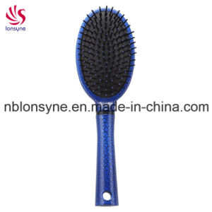 Professional Hair Brush with Cracking Painting