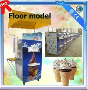 Lower Capacity Soft Ice Cream Machine pictures & photos