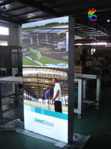 Embedded Strip, Fabric Flexible Film Silicon Edging Light Box (SS-LB19) pictures & photos