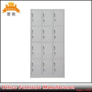 Knock Down Structure 12 Door Metal Locker pictures & photos