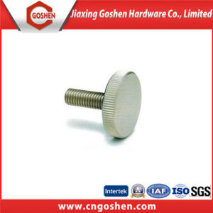 DIN653 Stainless Steel Knurled Thin Thumb Screws pictures & photos