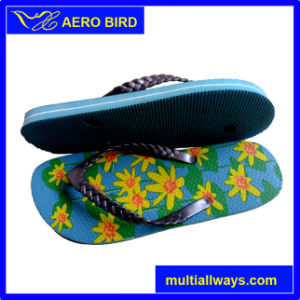 New PE Beach Girl Slipper with PVC Upper (15I256) pictures & photos