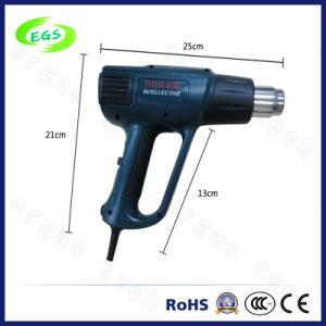 Adjustable Temperature Digital LCD Display Handhold Hot Air Gun pictures & photos