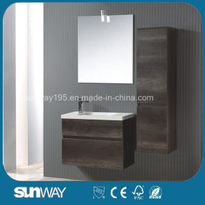 2016 Newest European Melamine Bathroom Vanity with Sink pictures & photos