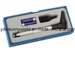 Mini Otoscope with 2PCS AAA Batteries Packed Into a Gift Box (SW-OT11) pictures & photos
