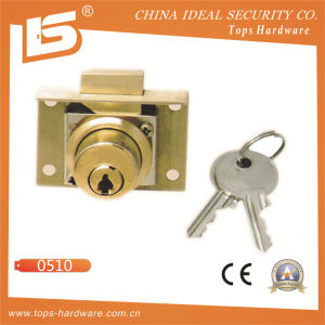 Zinc Furniture & Desk & Cabinet Drawer Lock (0510) pictures & photos