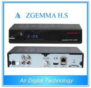 Single Tuner Satellite Receiver Zgemma H. S Linux Based DVB-S2 pictures & photos