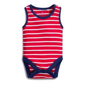 Pure Cotton Comfortable Fabric Sleeveless Romper Baby Clothes pictures & photos
