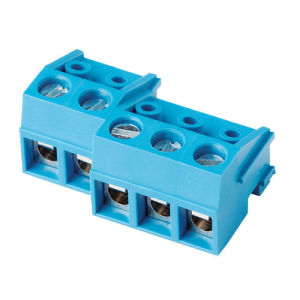 Wanjie PCB Screw Terminal Block (WJ332K-5.0/10.0mm) pictures & photos
