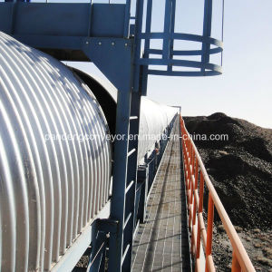Horizontal Curved Belt Conveyor for Material Handling System pictures & photos