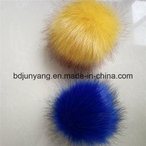 Promotional Fake Fox Fur Ball POM Pons Bag Charm Pendant pictures & photos