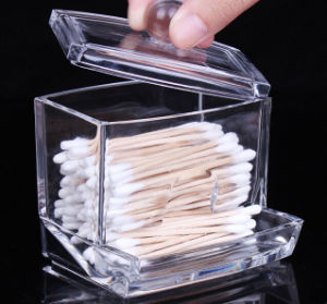 Wholesale Acrylic Box for Cotton Swabs pictures & photos