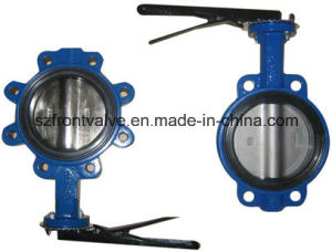 Cast Iron/Ductile Iron Centric Wafer Butterfly Valves pictures & photos