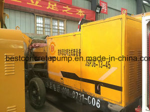Refractory Materials Wet Spraying Concrete Machine pictures & photos