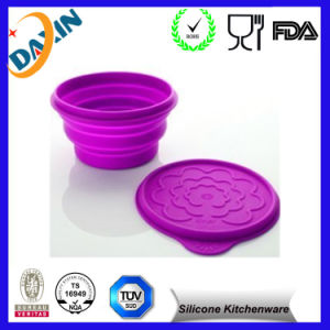 FDA&LFGB Approved Customized Folding Silicone Dog Bowl pictures & photos