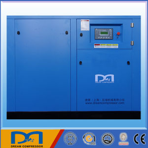 22kw 30kw Stationary Industrial Rotary Screw Air Compressor with Air Dryer pictures & photos