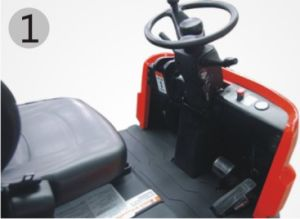 Electric Tow Tractor/Electric Forklift (Qdd60) pictures & photos