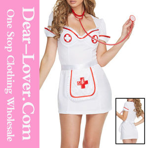 3PCS Flirty Night Nurse Costume pictures & photos