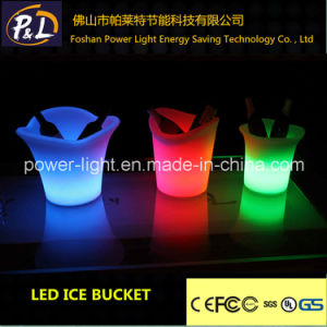Nightclub 16 Colors Changing Bar Furniture Glow LED Ice Bucket pictures & photos