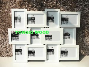 White Graduation Wooden Photo Frame