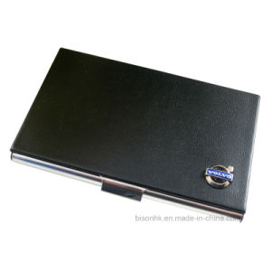 Customized Business Card Holder with Metal Logo Tag (BS-L-015) pictures & photos