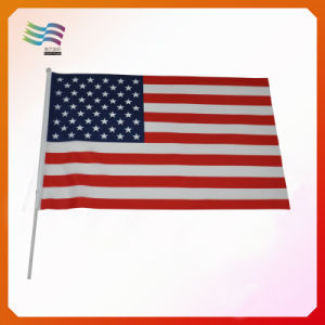 America Custom Hand Flags, Polyester Flag, Paper Flag (HYHF-AF068) pictures & photos