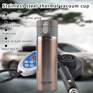 Car Boiling Mug Electric Kettle Boiling Vehicle Thermos