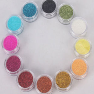 Cosmetic Grade Glitter Powder for Make up in Industry