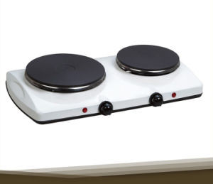 2 Burner Electric Cooker Portable Hot Plate for Sale pictures & photos