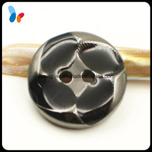 22mm New Style Round 2 Holes ABS Plastic Button for Garment pictures & photos
