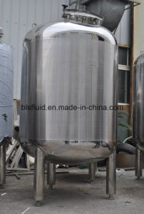Food Grade Stainless Steel Sanitary Tank pictures & photos