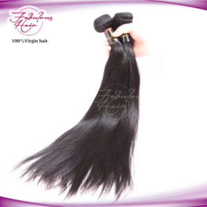8A Grade Silky Straight Brazilian Hair Weave pictures & photos