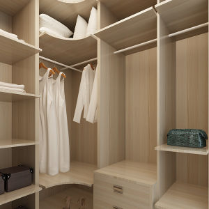 Oppein Australia Project Melamine Wood Storage Bedroom Closet (YG14-M02) pictures & photos