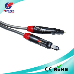 180 Degree Rotate Toslink Optical Cable pictures & photos